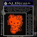 Hello Kitty Devilish Decal Sticker D2 Orange Emblem 120x120