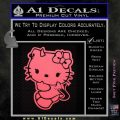 Hello Kitty Devilish Decal Sticker D2 Pink Emblem 120x120