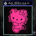 Hello Kitty Devilish Decal Sticker D2 Pink Hot Vinyl 120x120