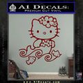 Hello Kitty Mermaid Decal Sticker DRD Vinyl 120x120