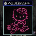 Hello Kitty Mermaid Decal Sticker Pink Hot Vinyl 120x120