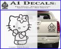Hello Kitty Wink Decal Sticker CFB Vinyl 120x97