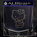 Hello Kitty Wink Decal Sticker CFC Vinyl 120x120