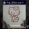 Hello Kitty Wink Decal Sticker DRD Vinyl 120x120