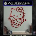 Hello kitty cupid decal sticker DRD Vinyl 120x120