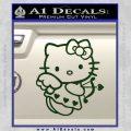 Hello kitty cupid decal sticker Dark Green Vinyl 120x120