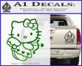 Hello kitty cupid decal sticker Green Vinyl Logo 120x97