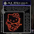 Hello kitty cupid decal sticker Orange Emblem 120x120