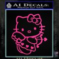 Hello kitty cupid decal sticker Pink Hot Vinyl 120x120