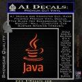 Java Script Code D1 Decal Sticker Orange Emblem 120x120