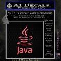 Java Script Code D1 Decal Sticker Pink Emblem 120x120