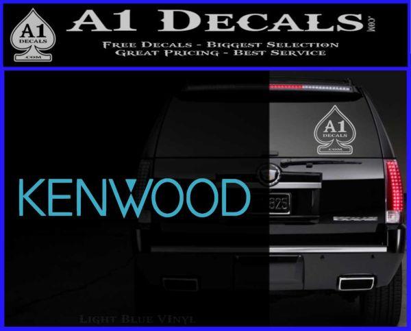 Kenwood Audio Decal Sticker 187 A1 Decals