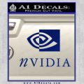 Nvidia Full Decal Sticker Blue Vinyl 120x120