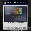 Nvidia Full Decal Sticker Glitter Sparkle 120x120