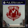 POW MIA Honor Guard Decal Sticker DRD Vinyl 120x120