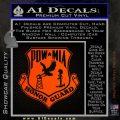 POW MIA Honor Guard Decal Sticker Orange Emblem 120x120