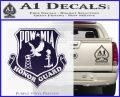 POW MIA Honor Guard Decal Sticker PurpleEmblem Logo 120x97