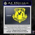 POW MIA Honor Guard Decal Sticker Yellow Laptop 120x120
