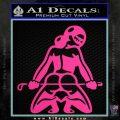 Sexy Girl 7 Decal Sticker Pink Hot Vinyl 120x120
