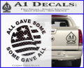 Some Gave All Decal Sticker CFB Vinyl 120x97