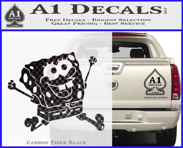 SpongeBob SquarePants Decal Sticker A Decals - Spongebob decals for cars