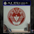 Star Gate SG1 Logo Decal Sticker DRD Vinyl 120x120
