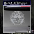 Star Gate SG1 Logo Decal Sticker Grey Vinyl 120x120