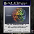 Star Gate SG1 Logo Decal Sticker Spectrum Vinyl 120x120