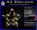 Star Pinup Decal Sticker 3DC Vinyl 120x97
