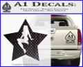 Star Pinup Decal Sticker CFB Vinyl 120x97