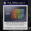 Star Trek Beam Me Up Decal Sticker Spectrum Vinyl 120x120