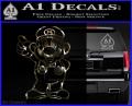 Super Mario Decal Sticker Standing Decal Sticker 3DC Vinyl 120x97