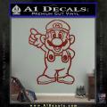 Super Mario Decal Sticker Standing Decal Sticker DRD Vinyl 120x120