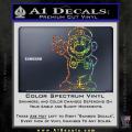 Super Mario Decal Sticker Standing Decal Sticker Spectrum Vinyl 120x120