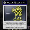 Super Mario Decal Sticker Standing Decal Sticker Yellow Vinyl 120x120