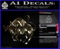 Taurus Decal Sticker Bull 3DC Vinyl 120x97