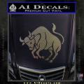 Taurus Decal Sticker Bull CFC Vinyl 120x120
