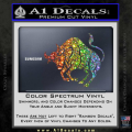Taurus Decal Sticker Bull Spectrum Vinyl 120x120