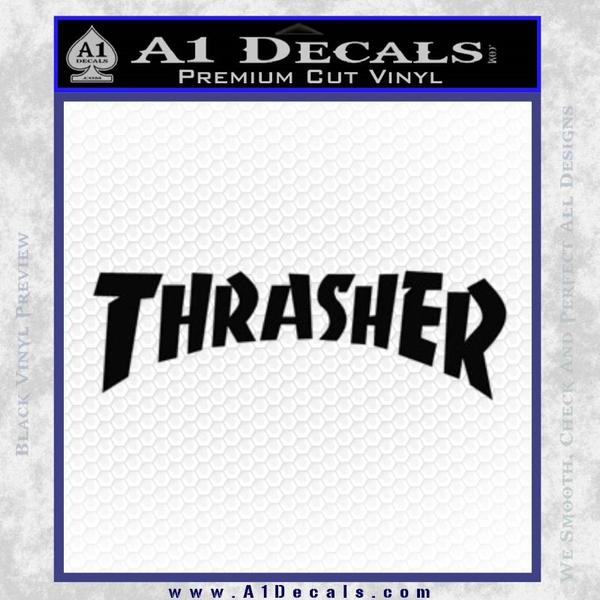 ec15480b2df5e6 Thrasher Decal Sticker Skate » A1 Decals