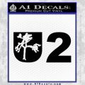 U2 Joshua Tree Decal Sticker Black Vinyl 120x120