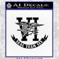 US Navy Seal Team Six D1 Decal Sticker Black Vinyl 120x120