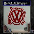 VW Splat D2 Decal Sticker DRD Vinyl 120x120