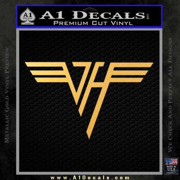 Van Halen Decal Sticker A1 Decals