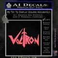 Voltron Decal Sticker Wide Pink Emblem 120x120