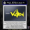 Voltron Decal Sticker Wide Yellow Laptop 120x120