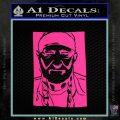 Willie Nelson Poster Decal Sticker Pink Hot Vinyl 120x120