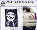 Willie Nelson Poster Decal Sticker PurpleEmblem Logo 120x97