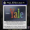 Yale Decal Sticker Glitter Sparkle 120x120