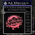 Captain Obvious D1 Decal Sticker Pink Emblem 120x120