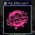 Captain Obvious D1 Decal Sticker Pink Hot Vinyl 120x120